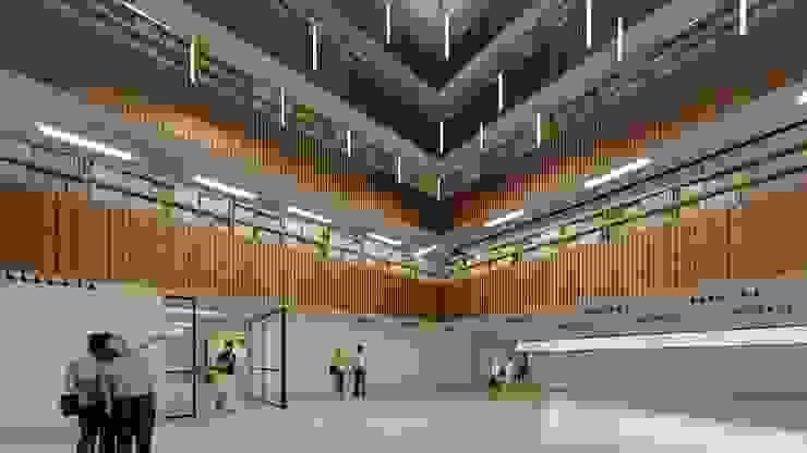 Modernización de la Biblioteca Pública Municipal Gabriel Turbay de CONTRAPUNTO TALLER DE ARQUITECTURA