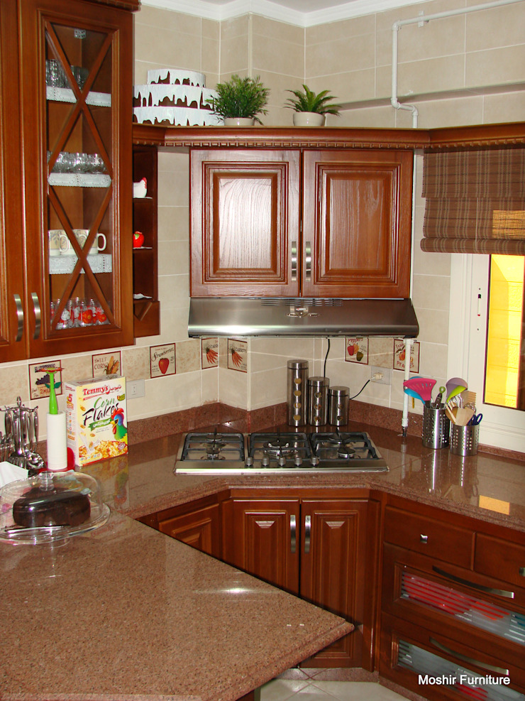 m furniture - moshir abdallah KitchenCabinets & shelves Wood Brown
