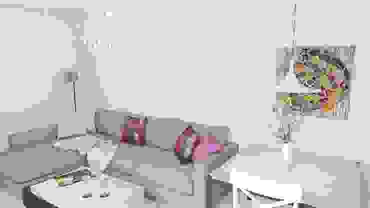 Modern living room by d.b.mroz@onet.pl Modern