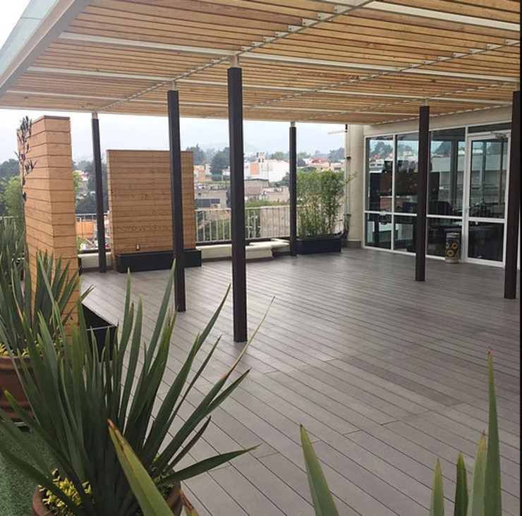 BODIN BODIN ARQUITECTOS Balcones y terrazas modernos