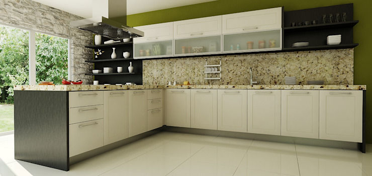 Calegra México Dapur built in Granit Multicolored