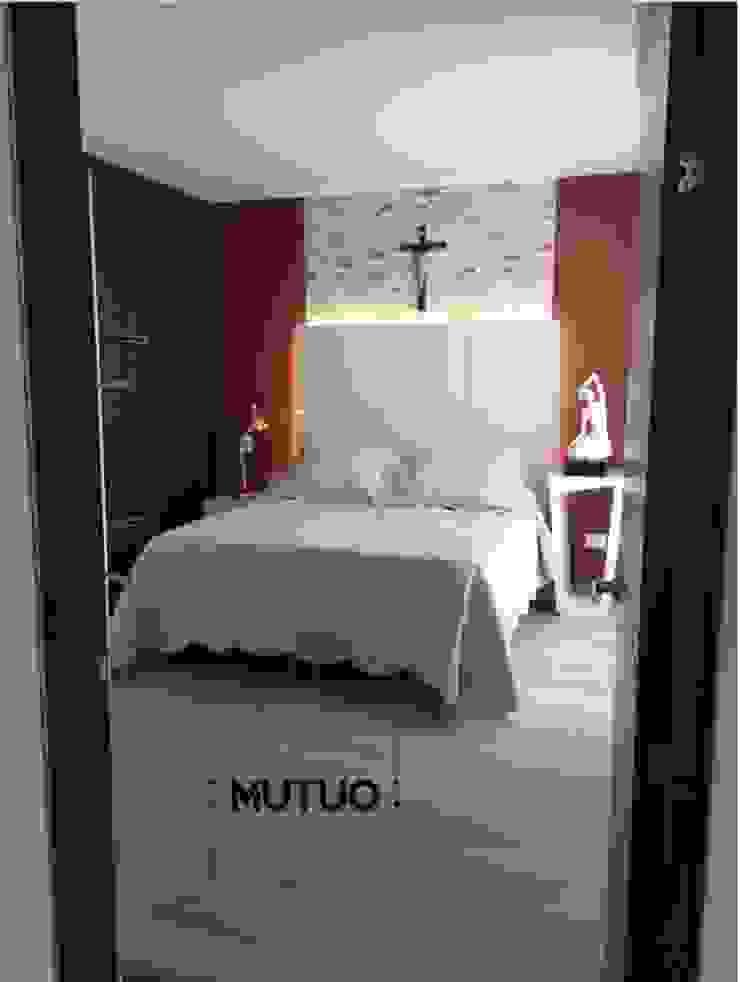 ABADIAS MONTEOLIVETTO de mutuo diseño interior Moderno Madera Acabado en madera