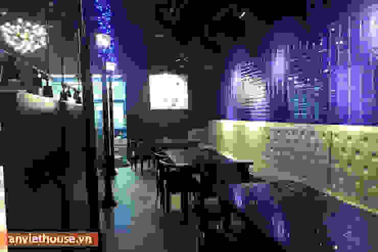 Thi công nội thất nhà hàng Hàn Quốc tại Big C Thăng Long: hiện đại  by An Viet Trading and Interior Service Joint Stock Company, Hiện đại Bần