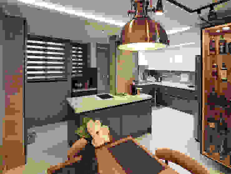 블랑브러쉬 Cucina moderna