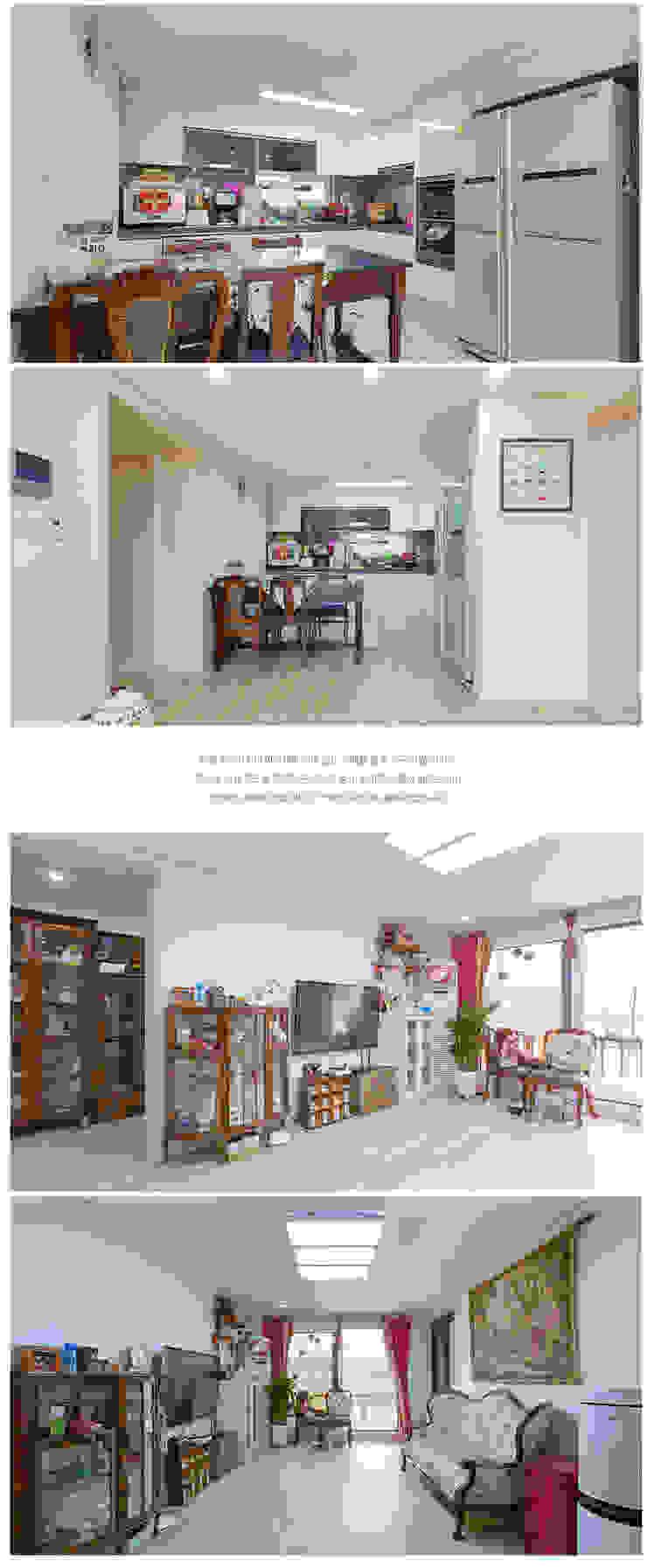 정겨움이 묻어나는 집_내부 모던스타일 미디어 룸 by 공간제작소(주) 모던