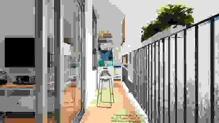 Modern Terrace by VAN NAM FURNITURE & INTERIOR DECORATION CO., LTD. Modern