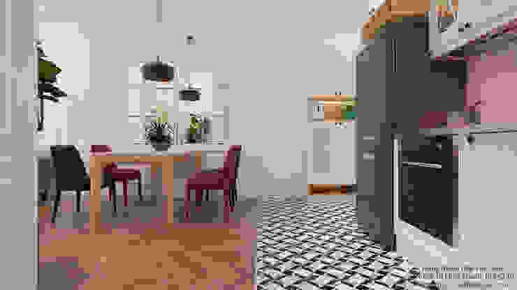 Modern Kitchen by VAN NAM FURNITURE & INTERIOR DECORATION CO., LTD. Modern