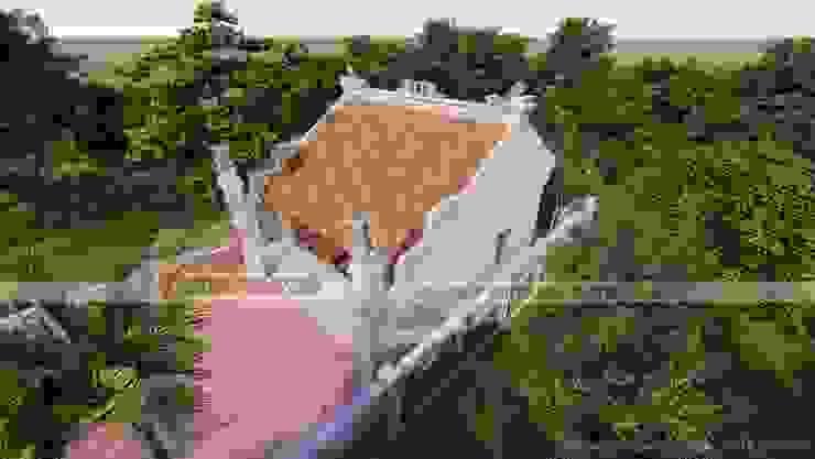 Nhà thờ họ tại Hải Dương Nhà phong cách đồng quê bởi Công ty TNHH Xây dựng Vietnamarch Đồng quê