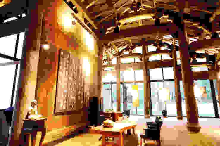 Asian style walls & floors by 台中室內建築師|利程室內外裝飾 LICHENG Asian