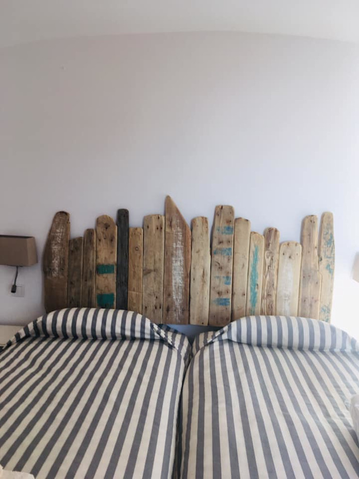 Officina Boarotto ห้องนอนเตียงนอนและหัวเตียง ไม้ Wood effect