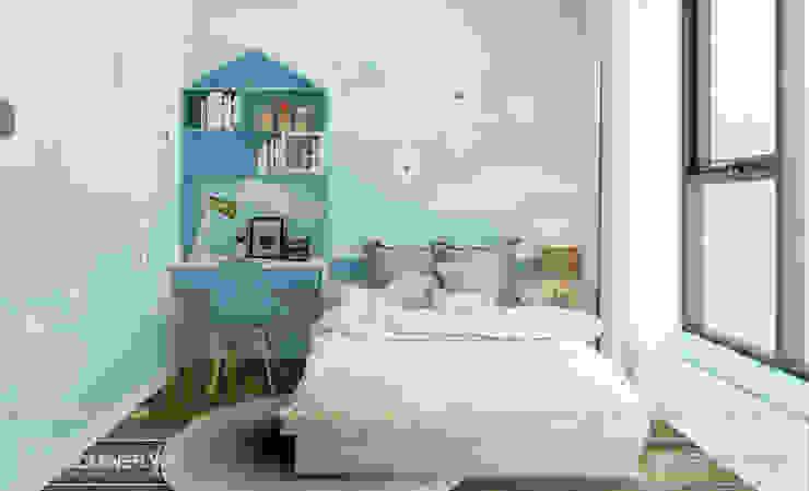 Phòng ngủ con bởi Thiết kế - Nội thất - Dominer