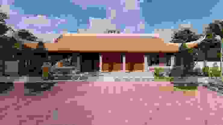 Nhà thờ họ 4 mái tại Ninh Bình bởi Công ty TNHH Xây dựng Vietnamarch