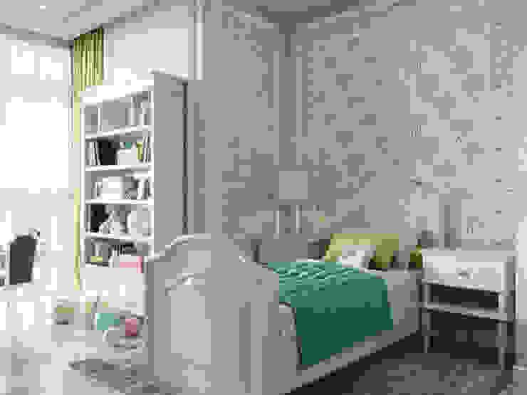 :  Підліткова спальня вiд Дизайн интерьера Киев|tishchenko.com.ua, Класичний