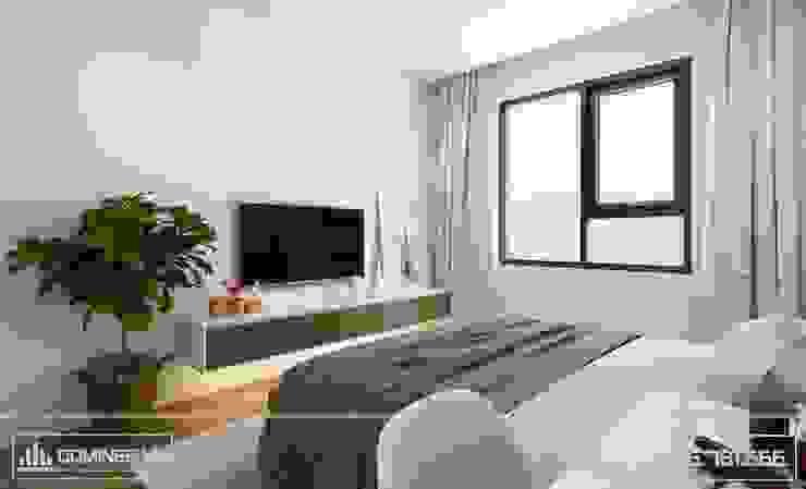 Phòng ngủ bởi Thiết kế - Nội thất - Dominer