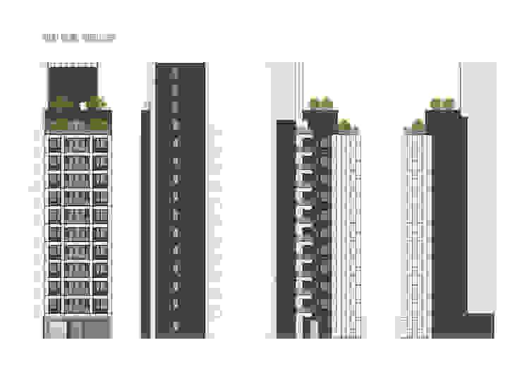 四項立面 雲展建築設計 Winstarts Architectural Design Group