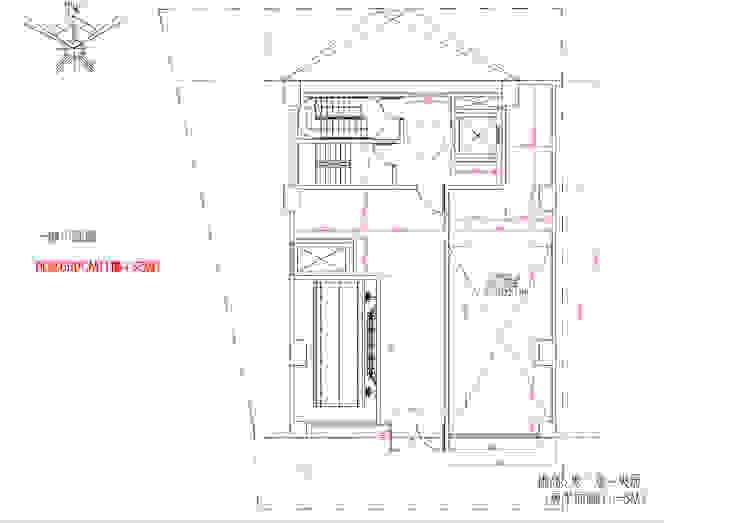 一樓平面圖 雲展建築設計 Winstarts Architectural Design Group