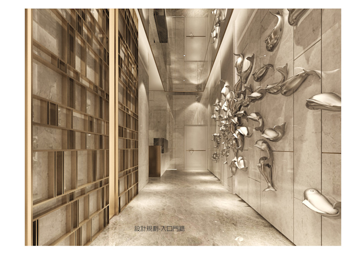 入口門廳 雲展建築設計 Winstarts Architectural Design Group