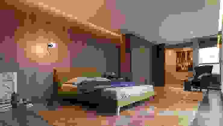 Johnny Thomsen Arquitetura e Design Dormitorios de estilo moderno