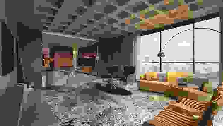 Johnny Thomsen Arquitetura e Design Livings de estilo moderno