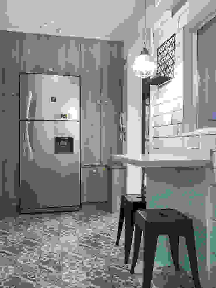 Cocina Vintage de Estudio Arquitectura y construccion PR/ Remodelaciones y Diseño de interiores / Santiago, Rancagua y Viña del mar Clásico