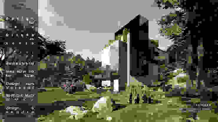 casa icubo de Fernando Laverde Minimalista Concreto reforzado