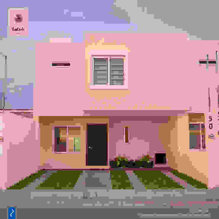 Vileta 50 & 52 Casas modernas de distrucción Moderno
