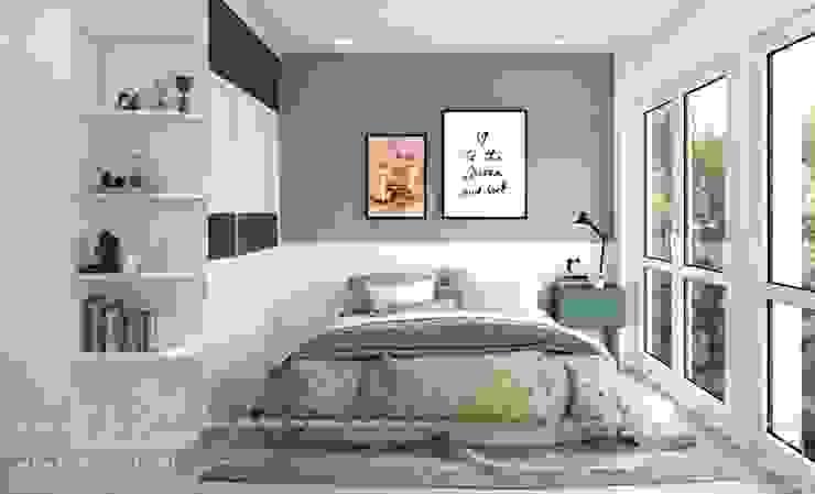 Phòng ngủ bé trai bởi Thiết kế - Nội thất - Dominer