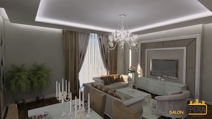 Living room by Miapera MİMARLIK ,
