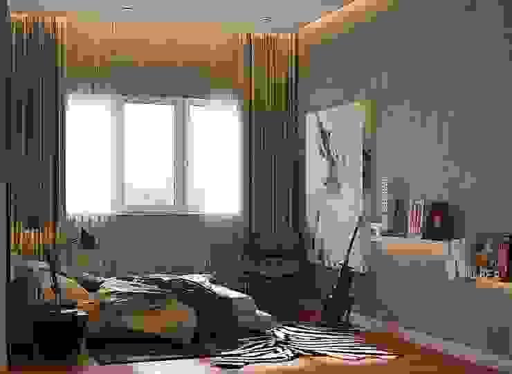 Pavilion Hilltop, Mont Kiara Norm designhaus Rustic style bedroom