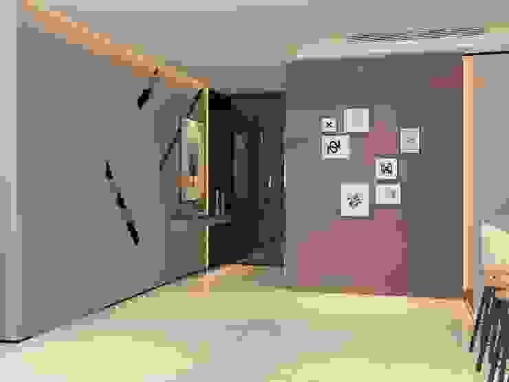 Pavilion Hilltop, Mont Kiara Norm designhaus Modern corridor, hallway & stairs
