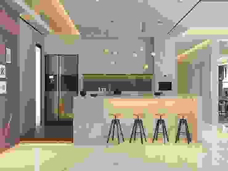 Pavilion Hilltop, Mont Kiara Norm designhaus Modern kitchen