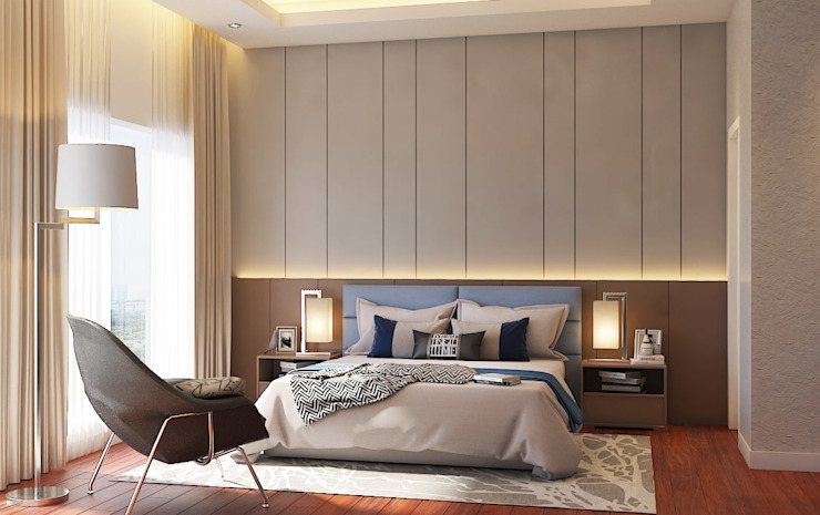 Pavilion Hilltop, Mont Kiara Norm designhaus Modern style bedroom