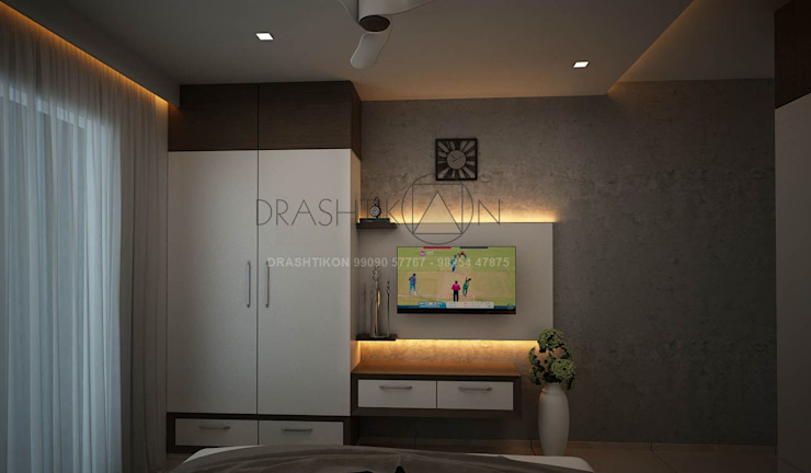 di Drashtikon designer consultant (kamal maniya) Moderno