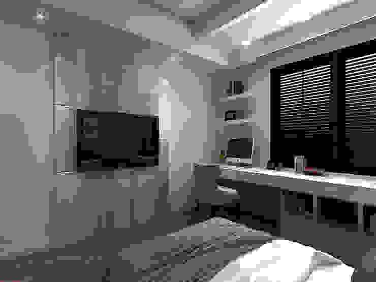 百玥空間設計 ─ 記憶 根據 百玥空間設計 現代風 合板