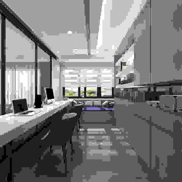 百玥空間設計 ─ 記憶 根據 百玥空間設計 現代風 玻璃