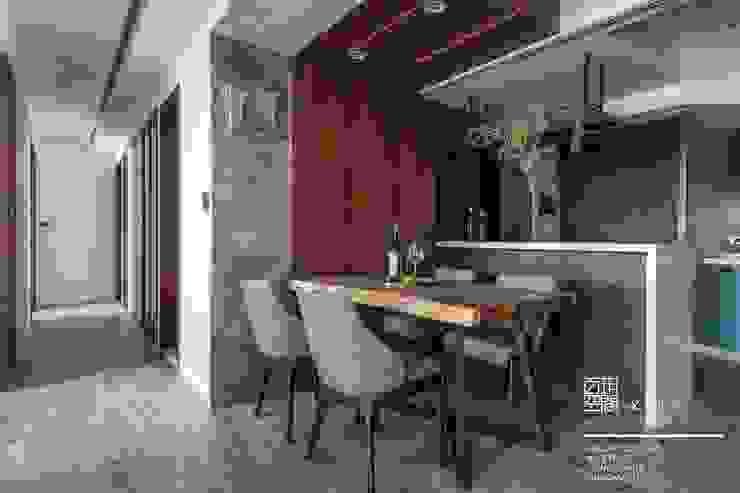 百玥空間設計 ─ 初見 百玥空間設計 餐廳 實木 Wood effect