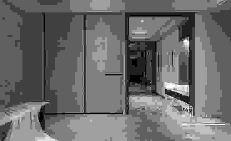 百玥空間設計 ─ 拾光 现代客厅設計點子、靈感 & 圖片 根據 百玥空間設計 現代風 合板