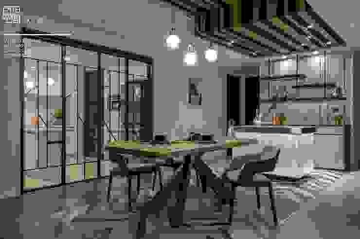 百玥空間設計 ─ 拾光 百玥空間設計 餐廳 實木 Wood effect
