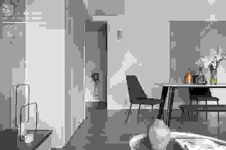 百玥空間設計 ─ 蕭邦狂想曲 根據 百玥空間設計 隨意取材風 水泥