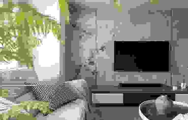 百玥空間設計 ─ 蕭邦狂想曲 根據 百玥空間設計 隨意取材風 強化水泥