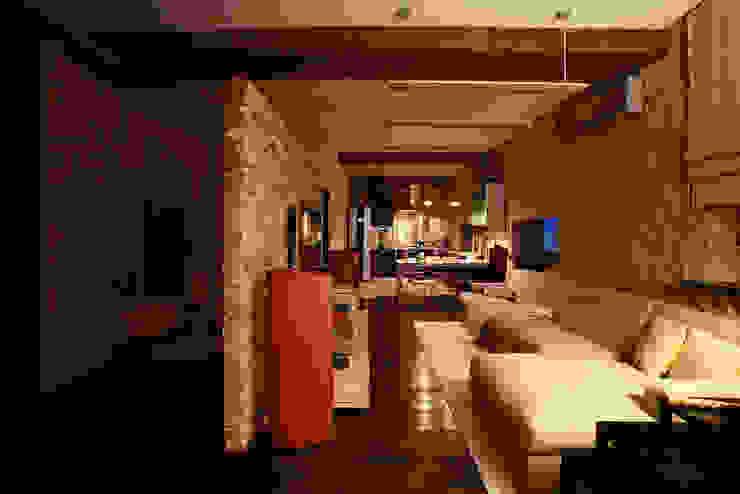 Salones de estilo industrial de Irina Yakushina Industrial