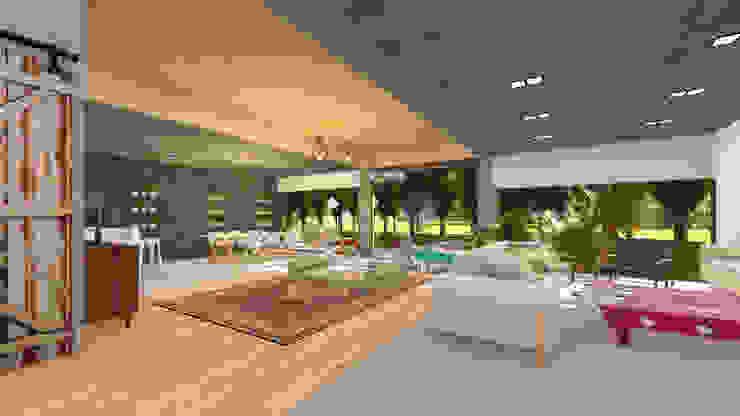 Salas de estilo moderno de GUG S.R.L. Moderno