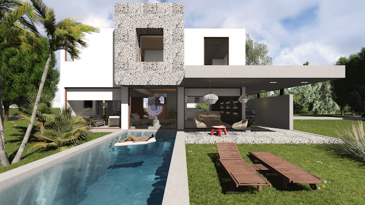 Modern houses by GUG S.R.L. Modern