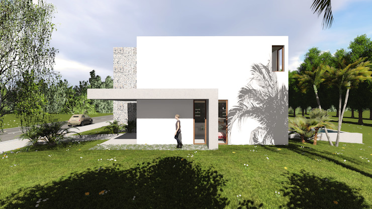 Casas modernas de GUG S.R.L. Moderno