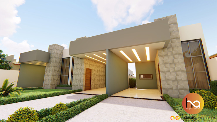02 por Habitus Arquitetura Moderno Concreto