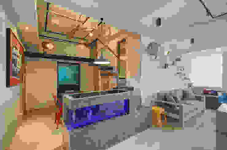 趣味空間 邑舍室內裝修設計工程有限公司 客廳