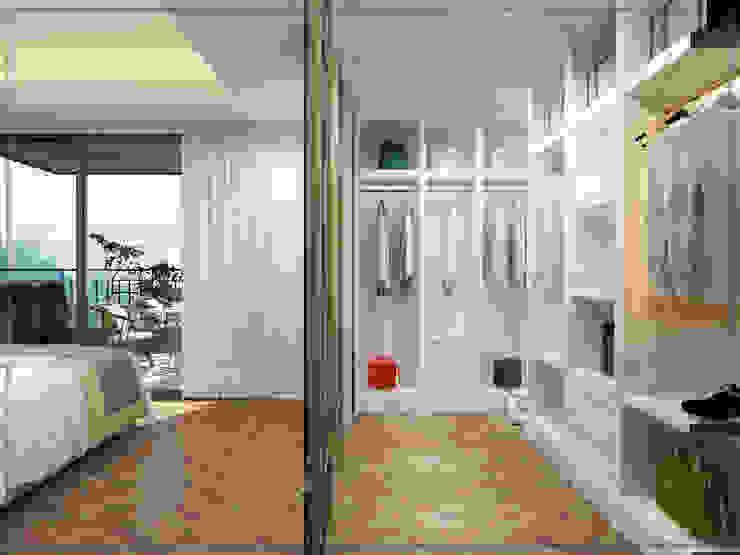 Giyinme Odası Modern Giyinme Odası avangard mimarlık Modern