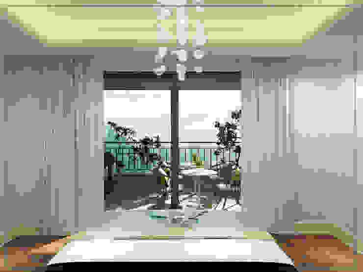 Ebeveyn Yatak Odası avangard mimarlık Modern Yatak Odası