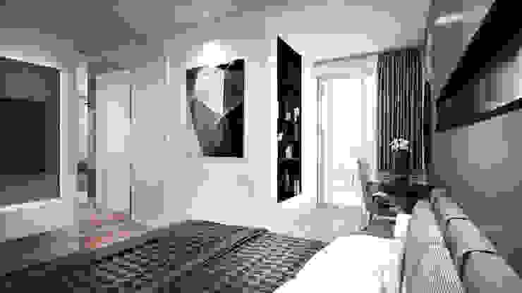 Modern style bedroom by RIKATA DESIGN Modern