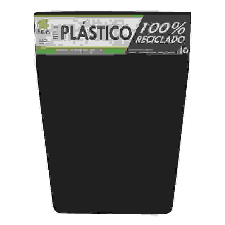 Matera 40cm color Negra Inyección de Viridis Productos Eco Amigables Minimalista Plástico